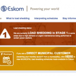 南アフリカの計画停電 最近の傾向と対策