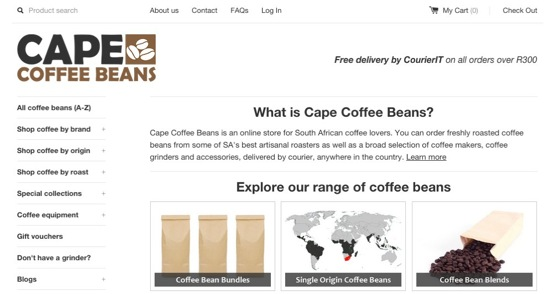 Cape Coffee Beans | The Online Store For Coffee Lovers 1