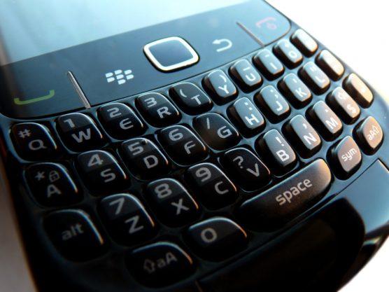 Blackberry Curve 8520 Keypad