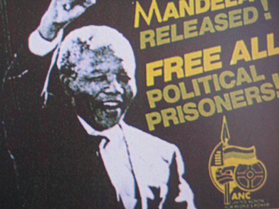 Nelson Mandela Release Poster